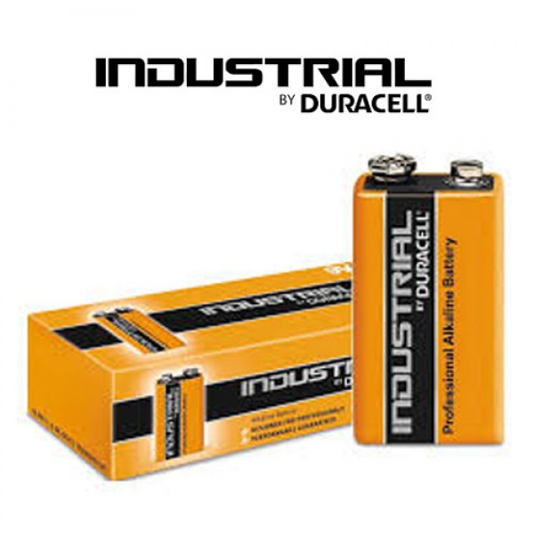 Duracell Industrial 9V Twin Pack