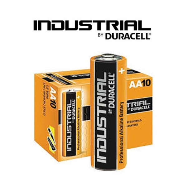 Duracell Industrial AA Batteries (box 10)