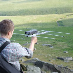 Lazer Telescopic Antenna With Pistol Grip