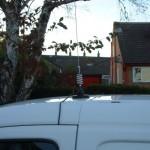Omnidirectional Magnetic Base Car Roof Mount Antenna