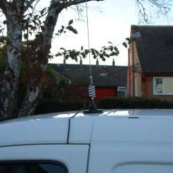Omnidirectional Magnetic Base Car Roof Mount Antenna