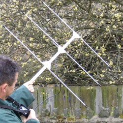 Standard Yagi 3 Element Folding With Rubber Grip