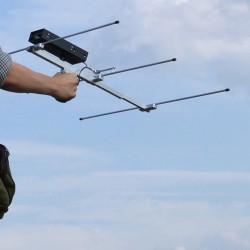 TRX-3S Three Channel Receiver On Telescopic Folding Antenna